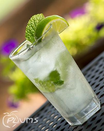 Plums Restaurant | Classic Captian Mojito | Beaufort Bars