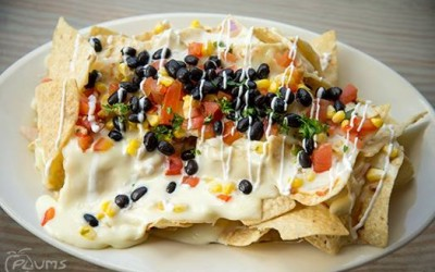 Plums Restaurant | Loaded Nachos | Beaufort Restaurants