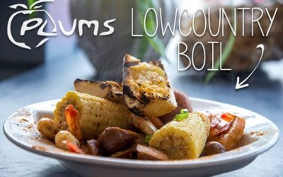Plums Restaurant | Lowcountry Boil | Beaufort Restaurants