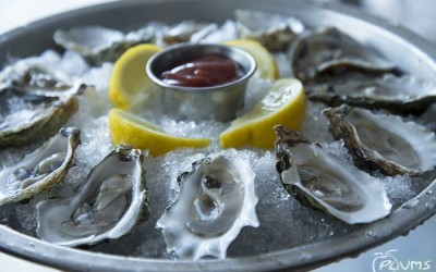 Raw Oysters Beaufort SC Restaurants | Plums Restaurant