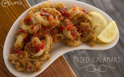 Fried Calamari | Plums Restaurant | Beaufort Restaurants