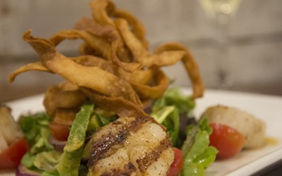 Southwest Grilled Scallops | Plums Restaurant | Beaufort Restaurants