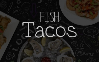Fresh Fish Tacos At Plums Restaurant